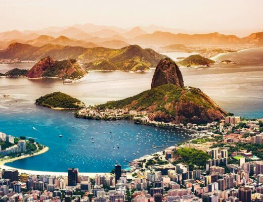 lune de miel, Lune de miel au Brésil: 6 endroits inoubliables